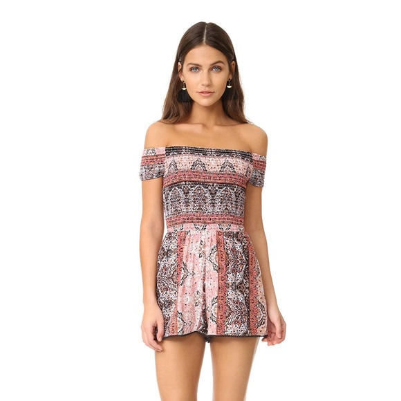 L*Space LSpace Paisley Perfect Seaside Romper